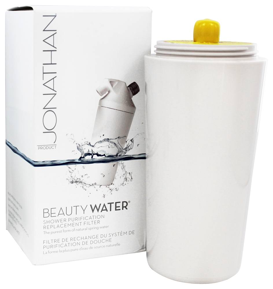 buy jonathan product beauty water shower purification replacement filter. Black Bedroom Furniture Sets. Home Design Ideas