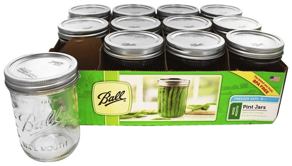 16 oz mason jars buy wide 16 oz pint jars freezer safe 10150
