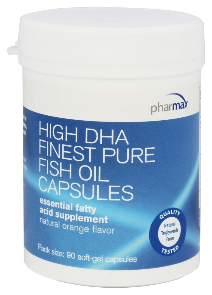 Buy pharmax high dha finest pure fish oil capsules for Pharmax fish oil