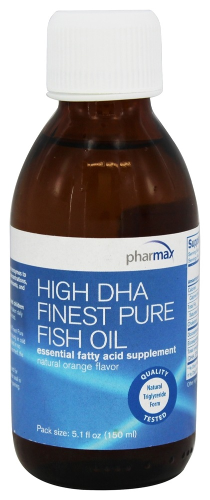 Buy pharmax high dha finest pure fish oil natural orange for Pharmax fish oil