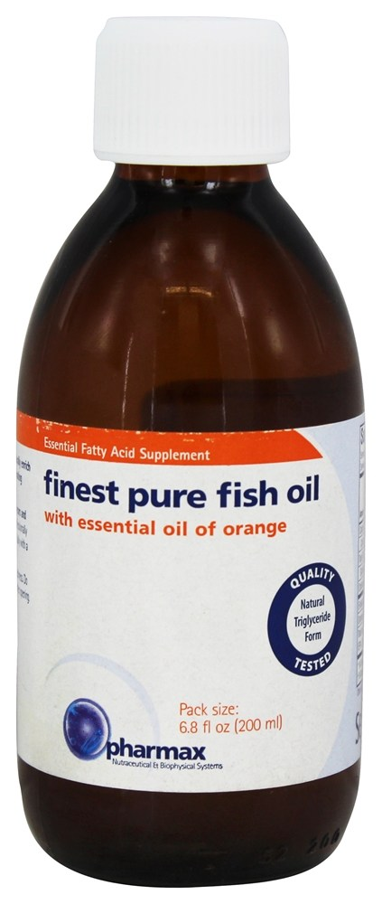 Buy pharmax finest pure fish oil with essential oil of for Pharmax fish oil