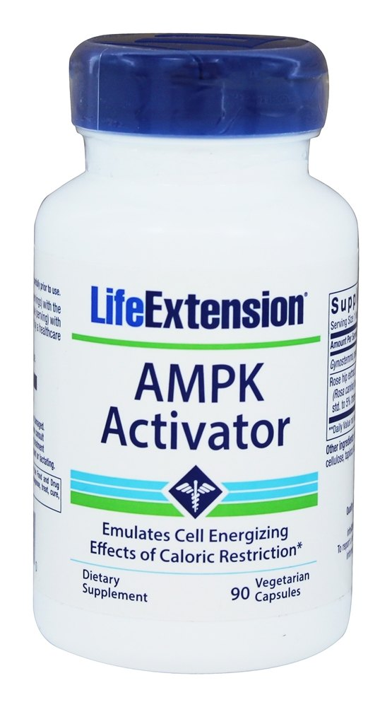Buy Life Extension - AMPK Activator - 90 Vegetarian ...
