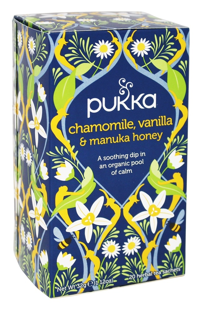 Buy Pukka Herbs Organic Herbal Tea Chamomile Vanilla