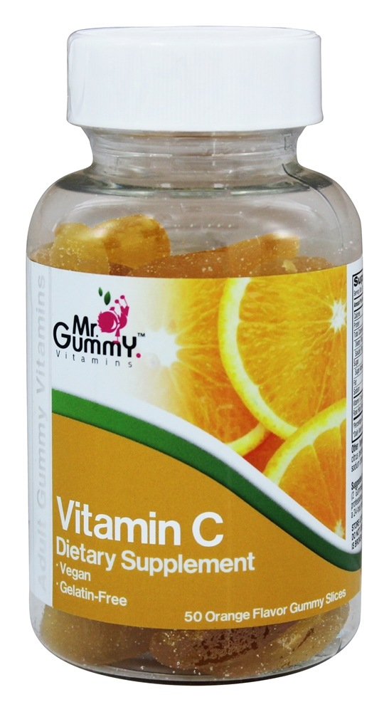 Buy Mr  Gummy Vitamins - Vitamin C Orange Flavor - 50 Gummies at