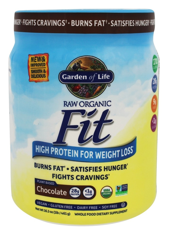 Buy Garden Of Life Raw Organic High Protein For Weight Loss Real Raw Chocolate Cacao 1 Lb