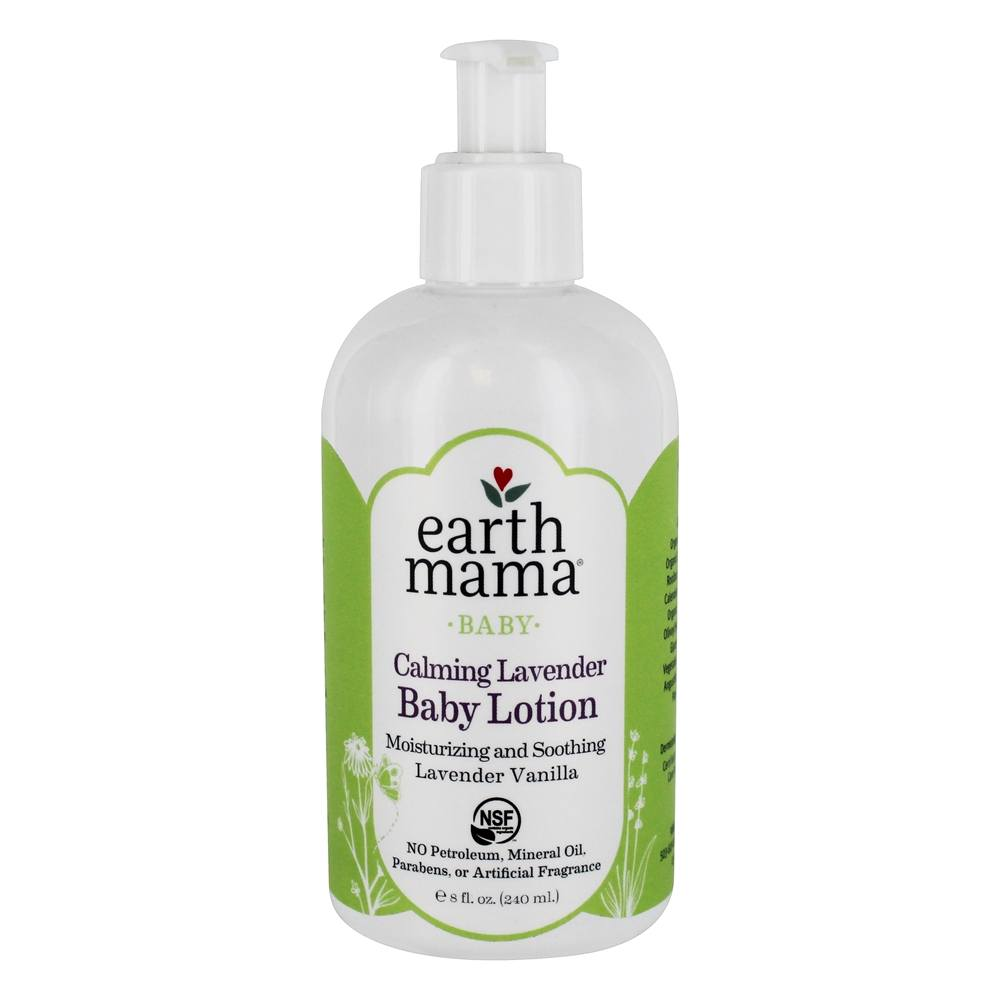 Buy Earth Mama Angel Baby Baby Lotion Calming Lavender