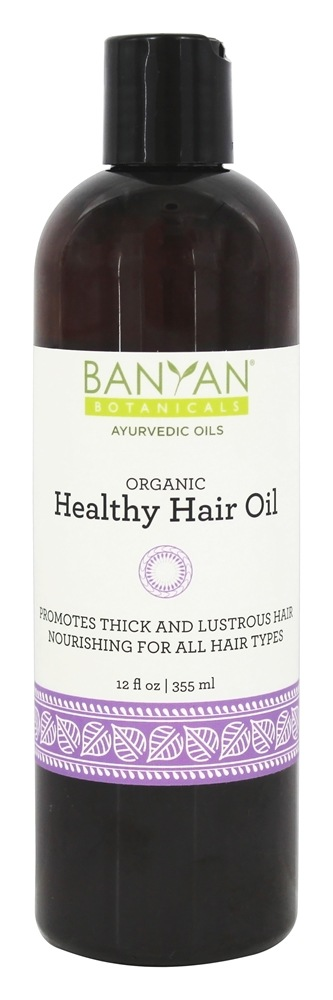 Buy Banyan Botanicals Organic Healthy Hair Oil 12 Oz At Luckyvitamin Com