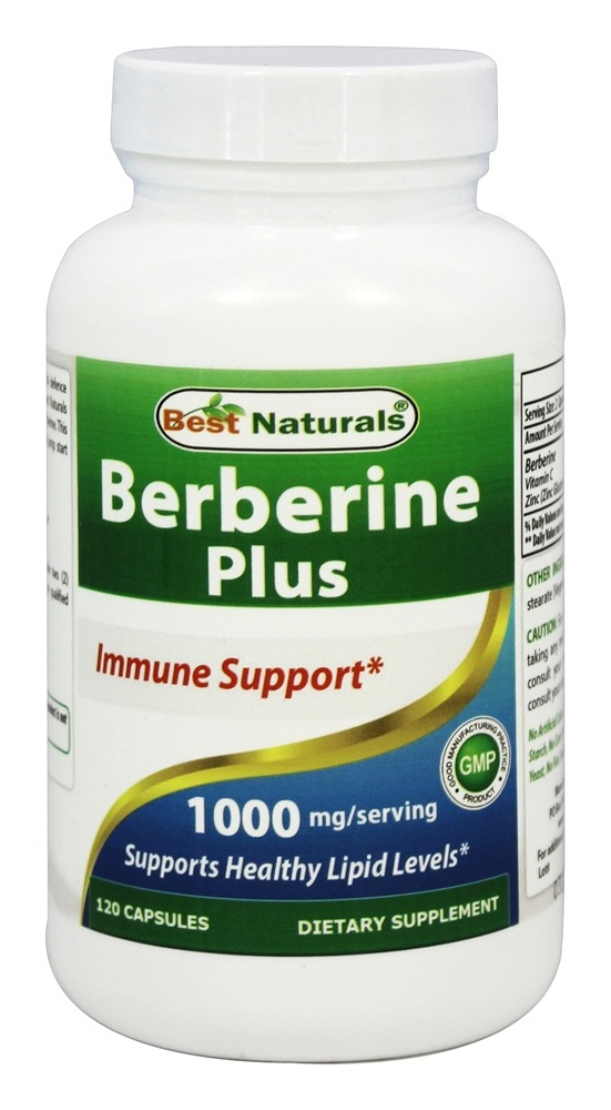 Berberine Plus 1000 Mg.
