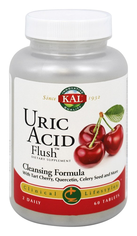 Buy Kal Clinical Lifestyles Uric Acid Flush Cleansing