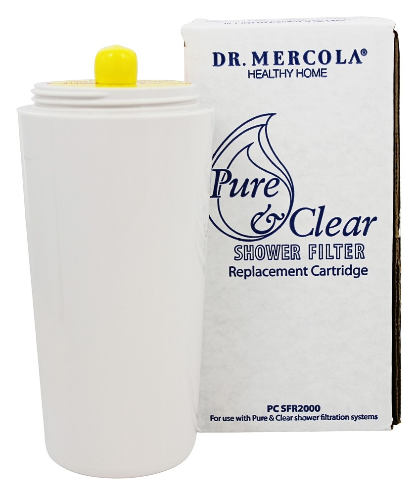 buy dr mercola premium products pure and clear shower filter replacement cartridge at. Black Bedroom Furniture Sets. Home Design Ideas