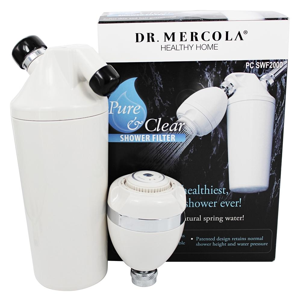 buy dr mercola premium supplements pure and clear shower filter at. Black Bedroom Furniture Sets. Home Design Ideas