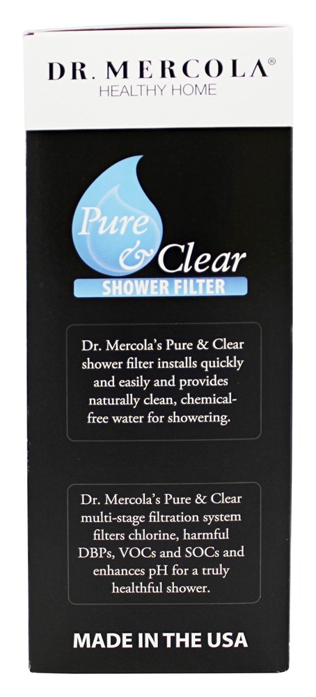 buy dr mercola premium supplements pure and clear shower filter at luckyvi. Black Bedroom Furniture Sets. Home Design Ideas