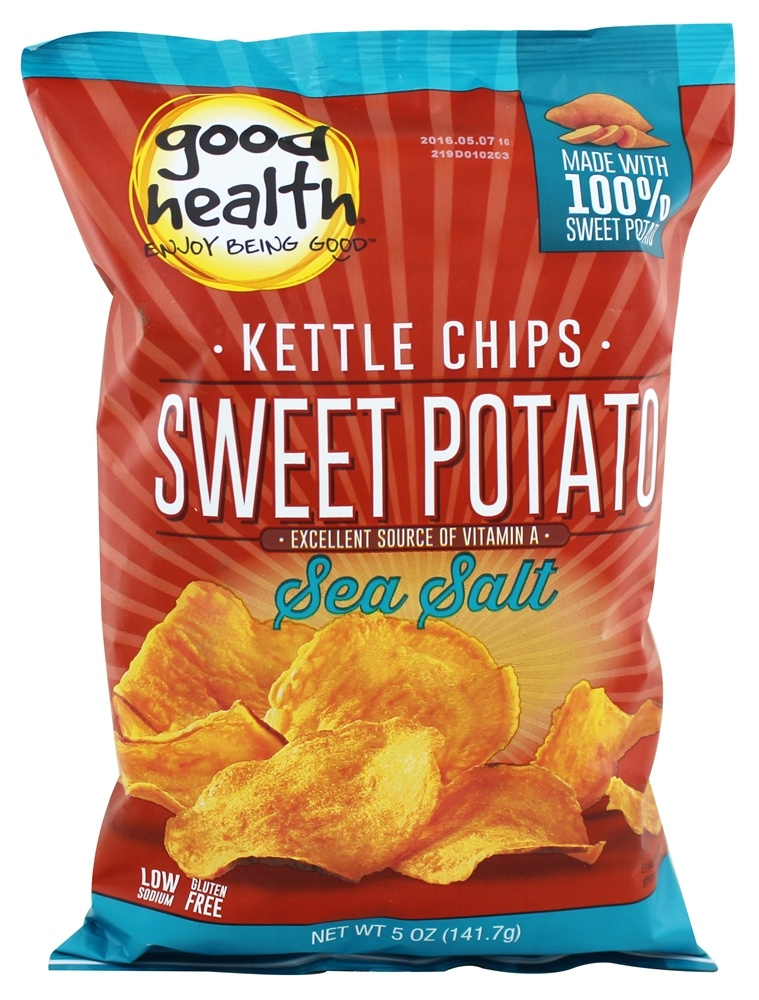 Good Health Natural Foods Sweet Potato Chips