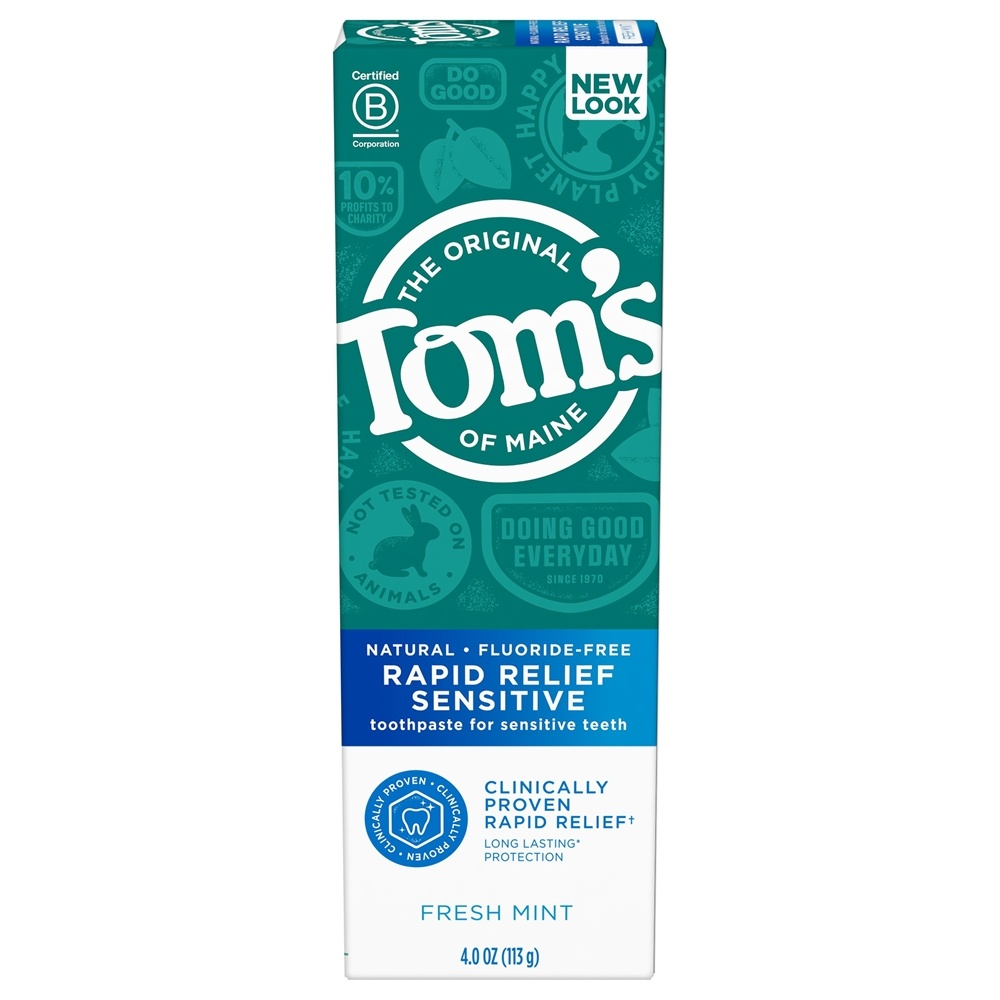Buy Tom S Of Maine Natural Toothpaste Rapid Relief