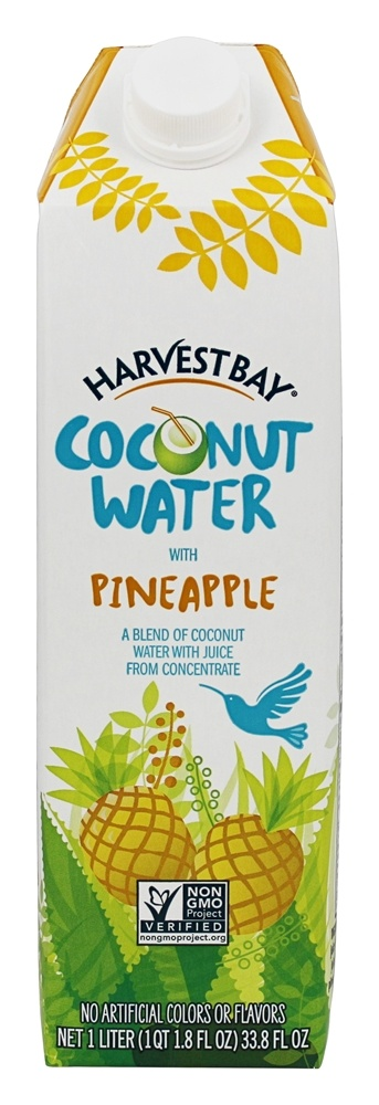Harvest Bay All Natural Coconut Water Reviews