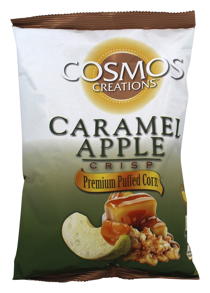 Buy Cosmos Creations Premium Puffed Corn Caramel Apple