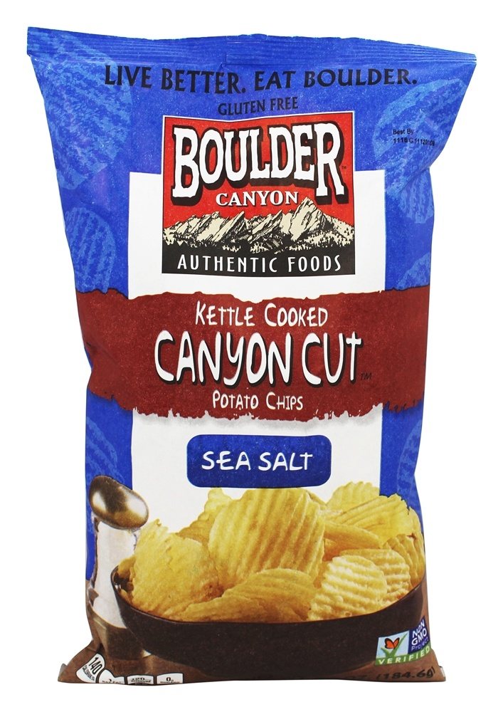 Kettle Cooked Chips ~ Buy boulder canyon gluten free cut kettle cooked