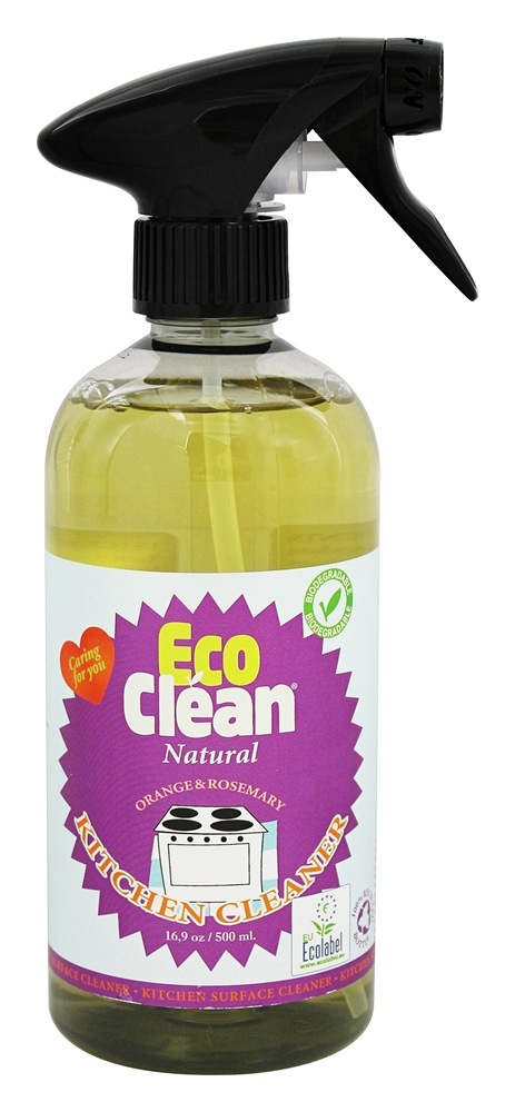 Buy Eco Clean Natural Kitchen Cleaner Orange And Rosemary 16 9 Oz At