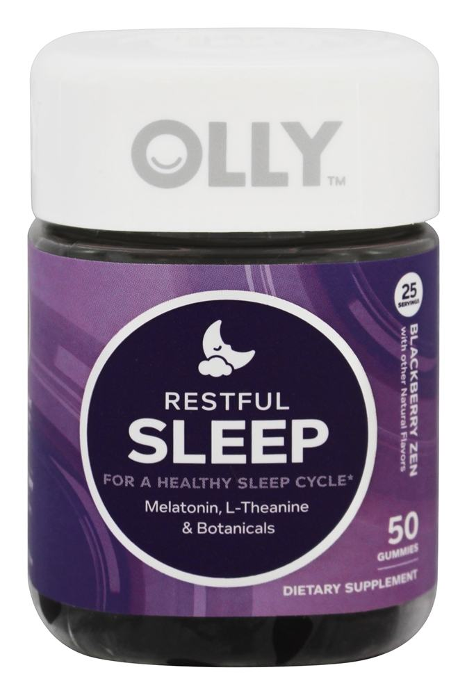 Buy Olly Restful Sleep Blackberry Zen 50 Gummies At