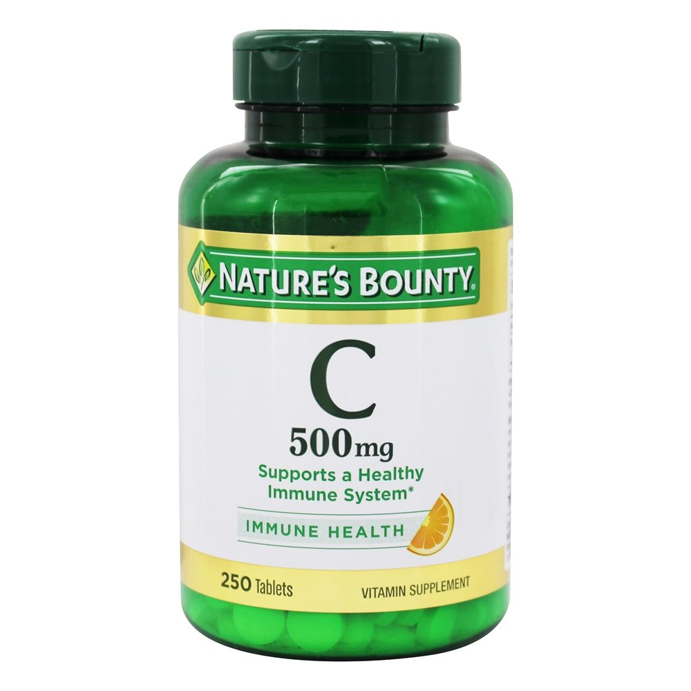 Nature S Bounty Vitamin C Ingredients
