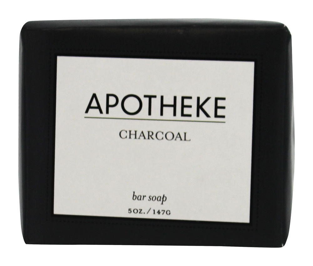 Buy Apotheke - Bar Soap Charcoal - 5 oz. at LuckyVitamin.com