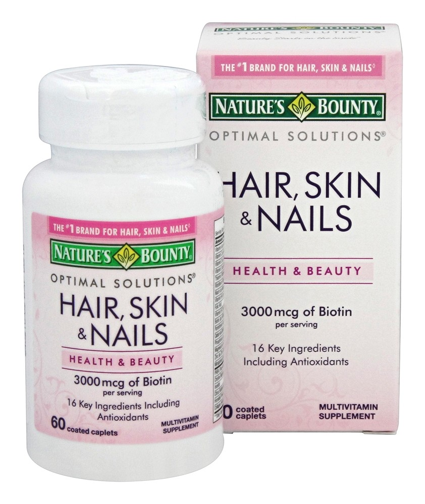 Nature S Bounty Hair Skin And Nails Gluten Free