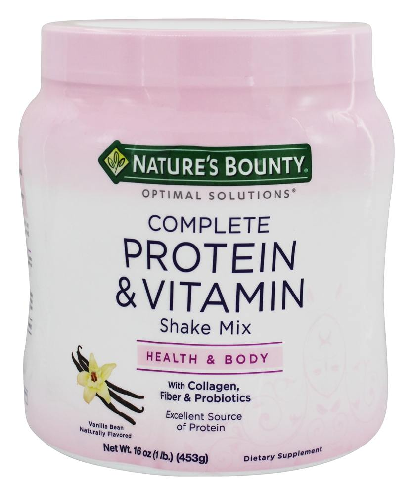 Nature S Bounty Complete Protein And Vitamin Shake