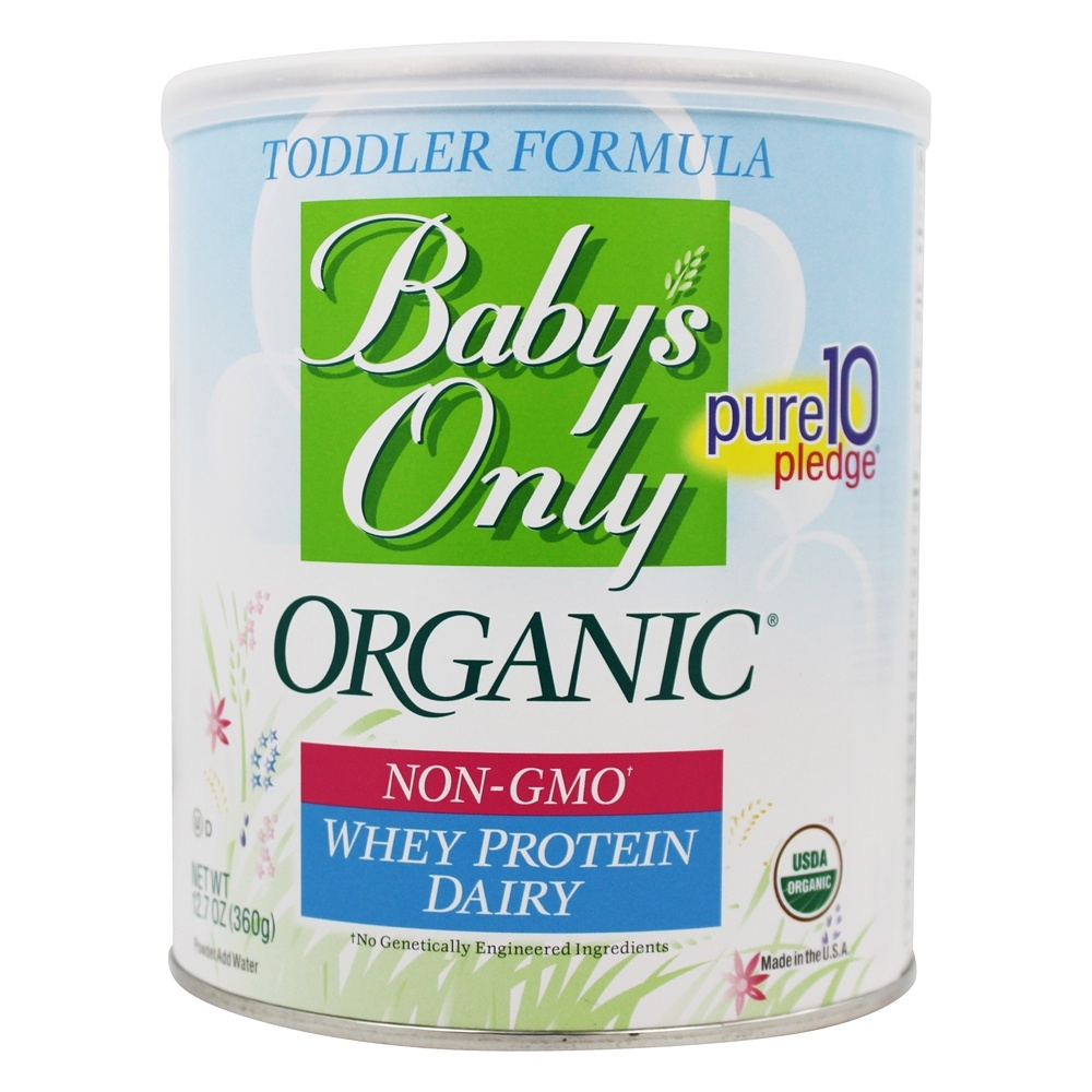 Buy Baby S Only Organic Dairy Whey Protein Toddler