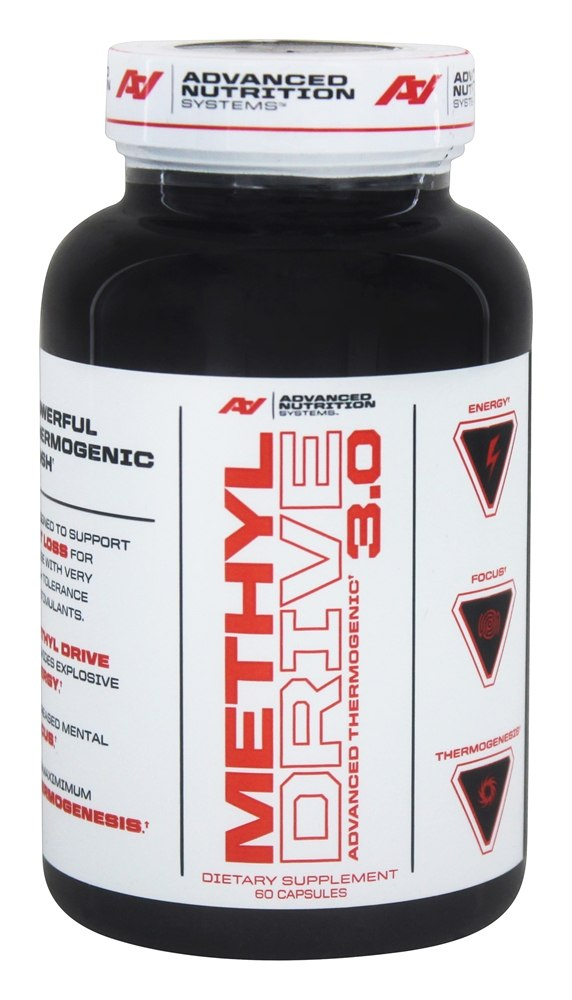 Buy ANS (Advanced Nutrition Systems) - DO NOT PUBLISH Methyl Drive 3.0  Advanced Thermogenic - 60 Capsules at LuckyVitamin.com