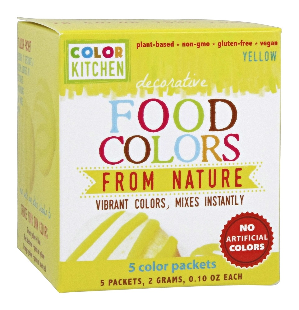 Buy Colorkitchen Decorative Food Colors From 5 X 0 10 Color Packets