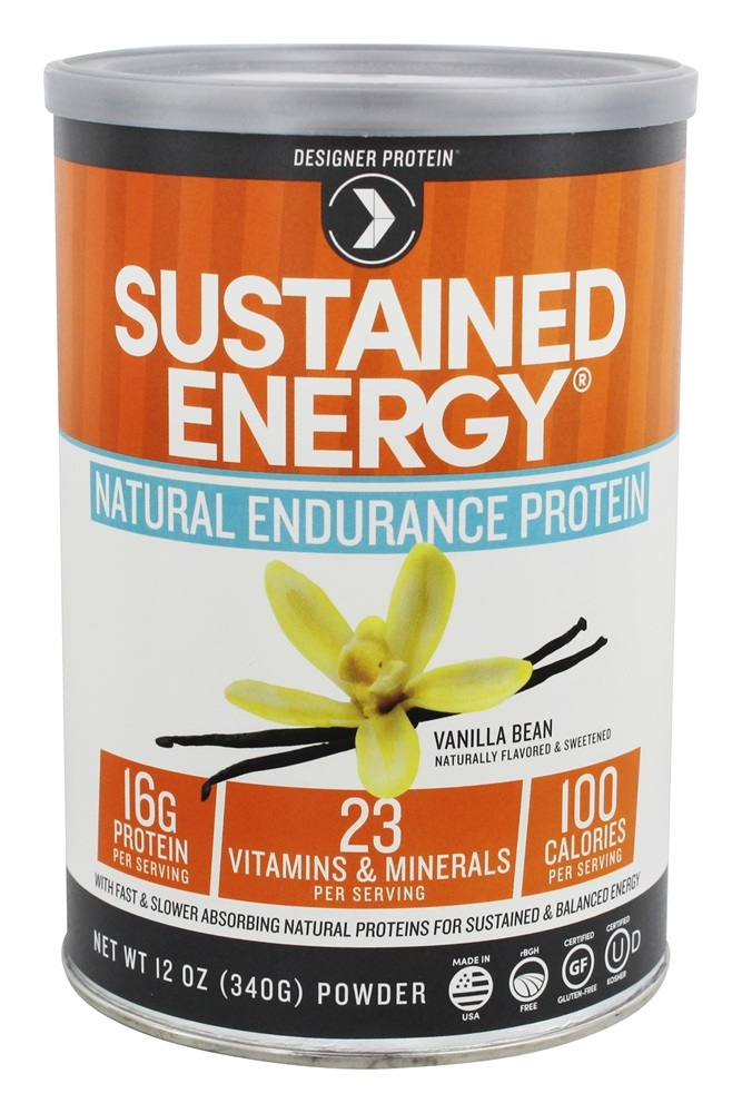Sustained Energy Natural Endurance Protein Reviews