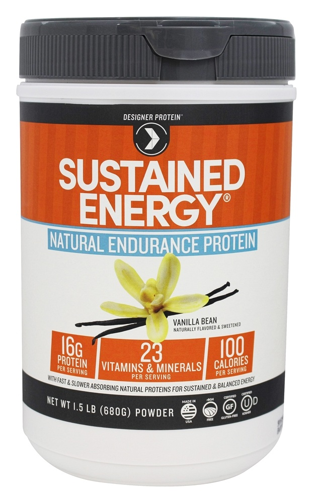 Buy Designer Protein - Sustained Energy Natural Endurance ...