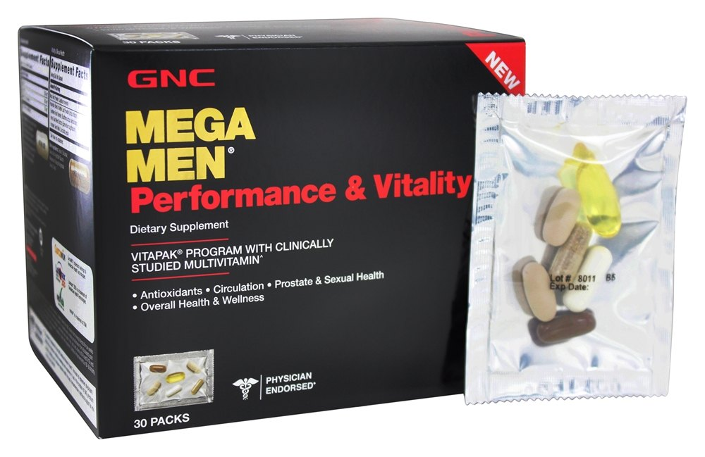 Gnc vitamins for men sexual health