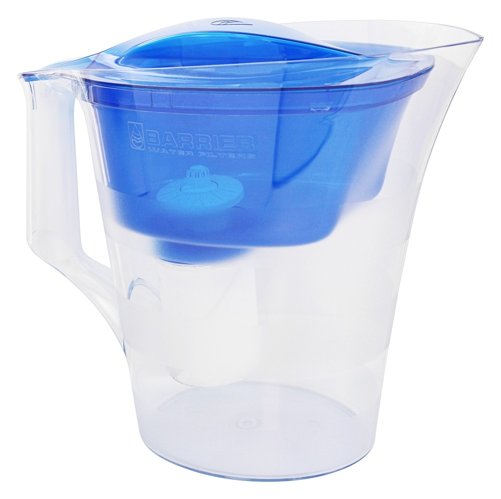 buy new wave enviro products barrier twist water filter pitcher blue 7 cup s at. Black Bedroom Furniture Sets. Home Design Ideas