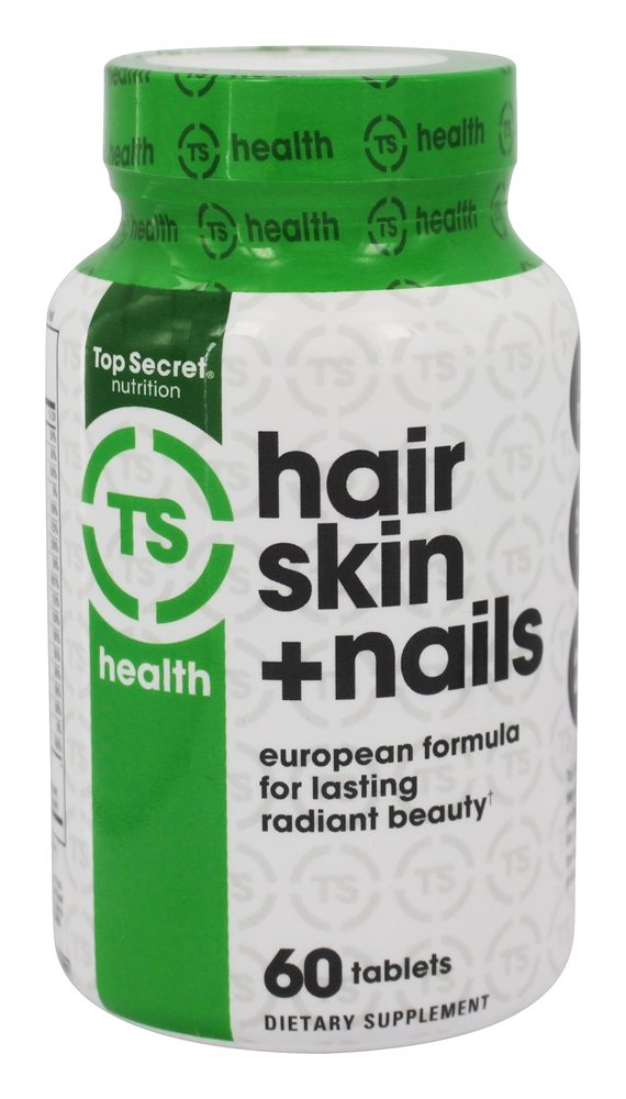 Buy Top Secret Nutrition - Hair Skin + Nails - 60 Tablets at ...