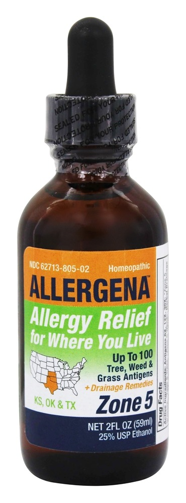 Buy Allergena - Allergy Relief Drops Zone 5 - 2 oz  at