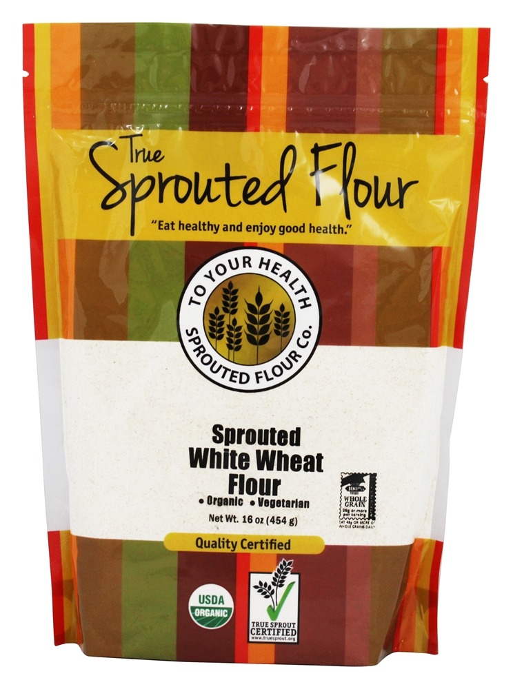 Buy To Your Health - Organic Sprouted White Wheat Flour