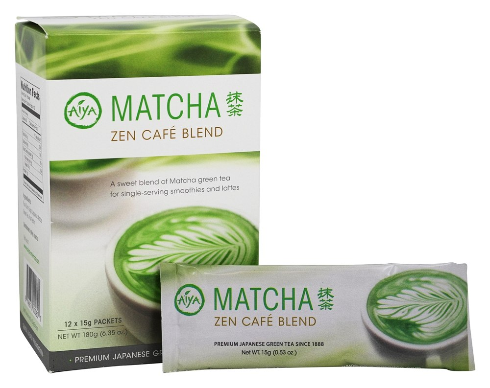 buy aiya matcha zen cafe blend 12 stick s at. Black Bedroom Furniture Sets. Home Design Ideas