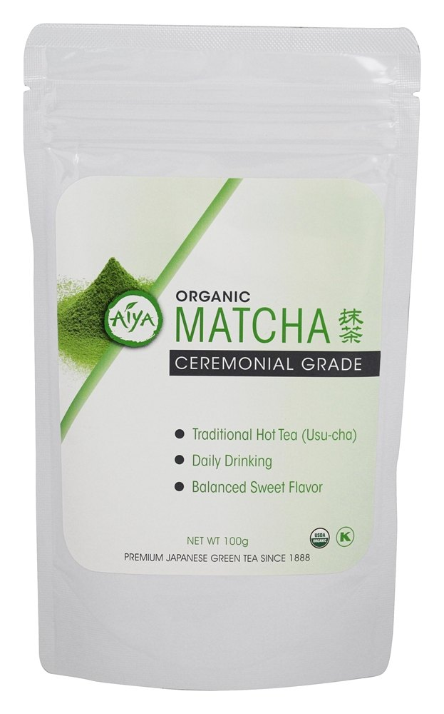 buy aiya organic matcha cermonial grade tea 100 gram s at. Black Bedroom Furniture Sets. Home Design Ideas