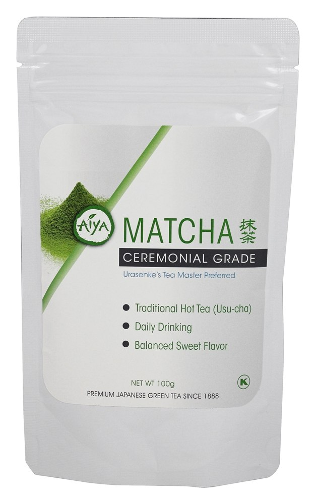 buy aiya matcha cermonial grade tea 100 gram s at. Black Bedroom Furniture Sets. Home Design Ideas