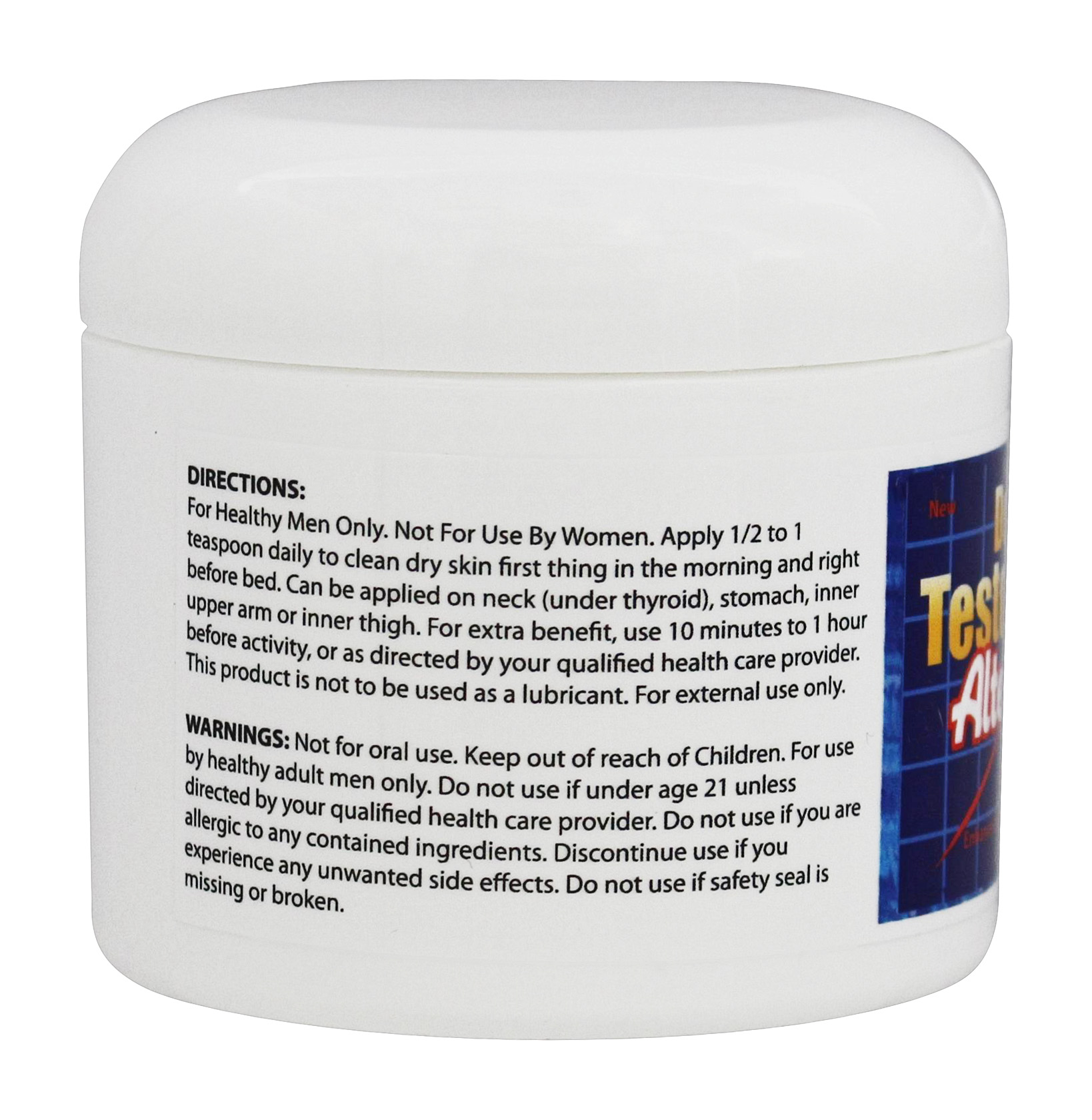 Buy Fountain of Youth Technologies - Doctor's Testosterone Alternative Gel - 4 oz. at