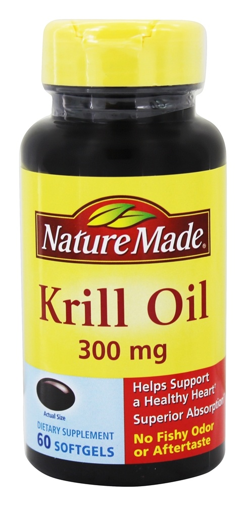 Nature Made Krill Oil Mg