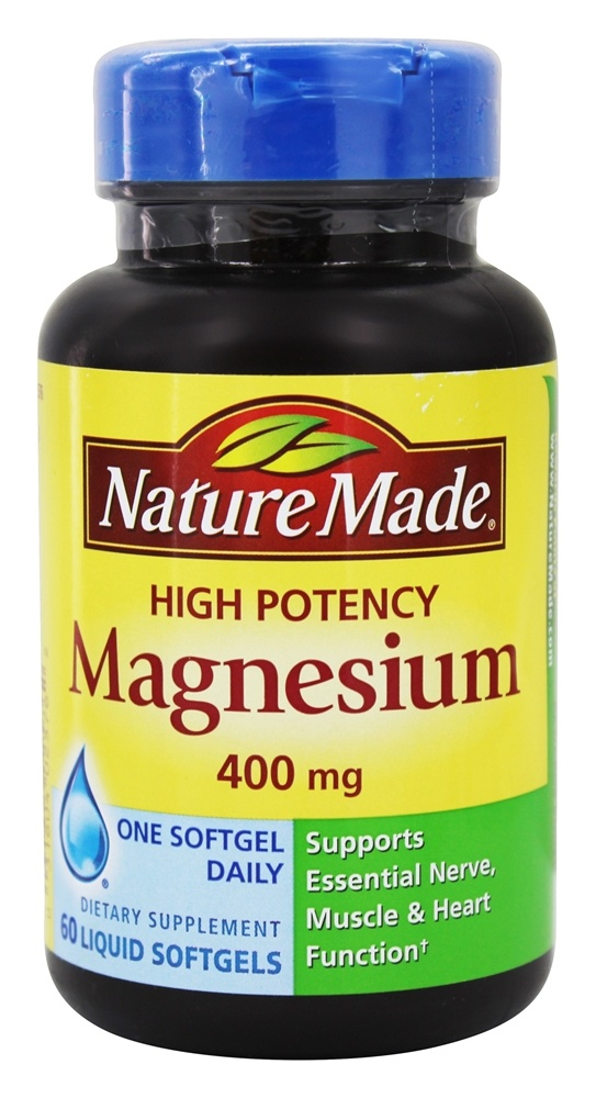 Nature Made High Potency Magnesium  Mg Reviews