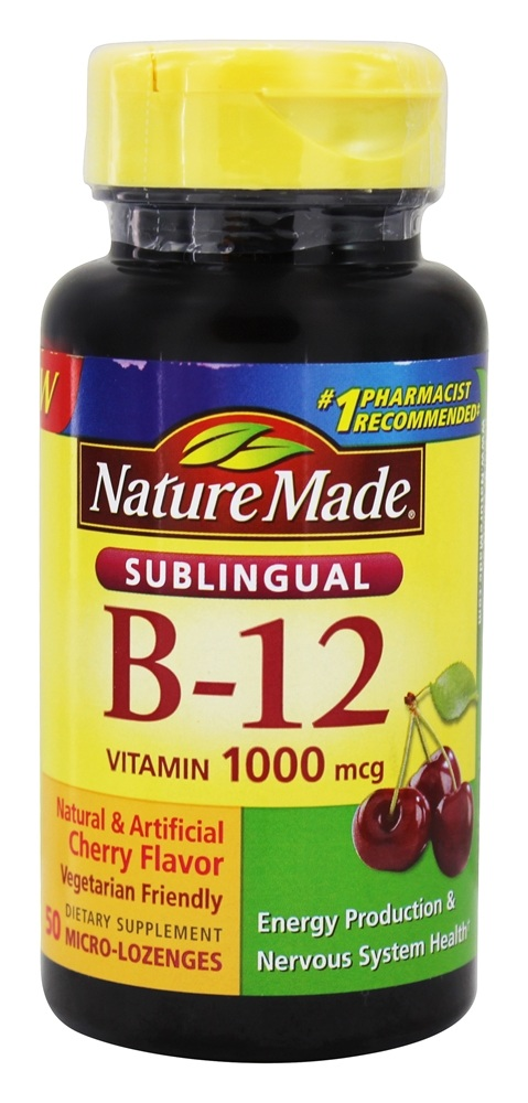 How to take sublingual b12