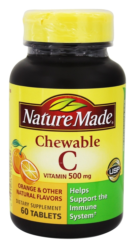 Where Are Nature Made Chewable C Made In What Country