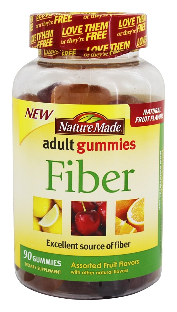Nature Made Adult Gummies Fiber