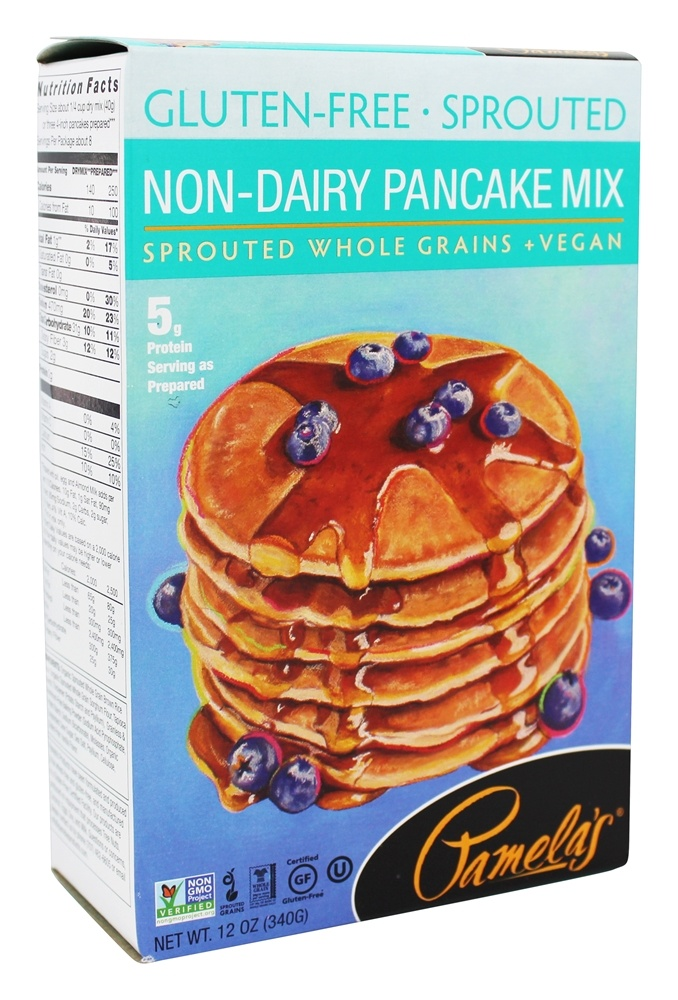 Buy Pamela's Products - Gluten-Free Sprouted Non-Dairy