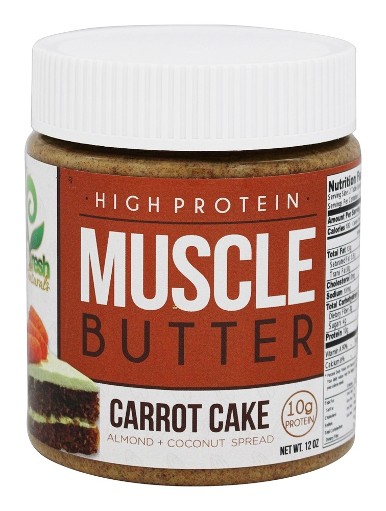 Muscle Butter Carrot Cake