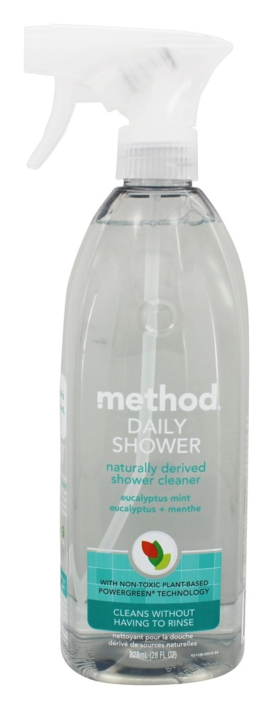 Buy method daily shower cleaner naturally derived for Method bathroom cleaner ingredients