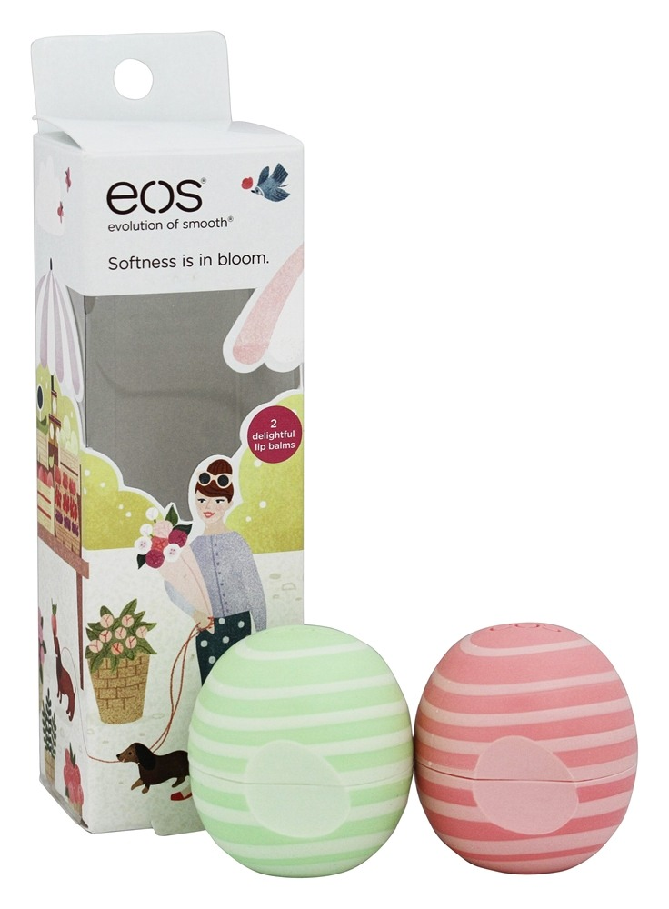Eos Evolution of Smooth - Lip Balm Spheres White Berry & Vanilla Bean - 2 Pack (pack of 12) Eternal Youth Promise Coenzyme Q10 COQ10 Serum with 20% Matrixyl 3000 - 30m 1oz